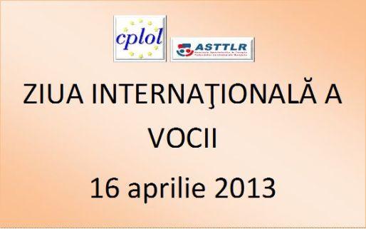 Ziua Internationala a Vocii